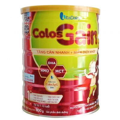Sữa Colos gain